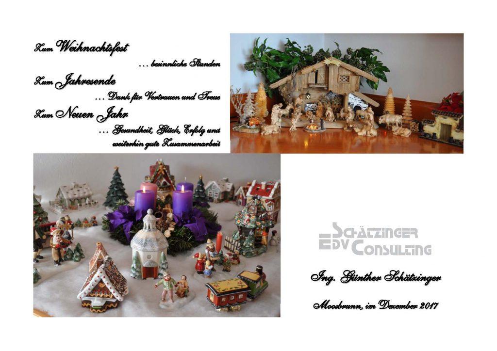 Ein frohes Weihnachtsfest und ein gesundes neues Jahr – Schätzinger ...